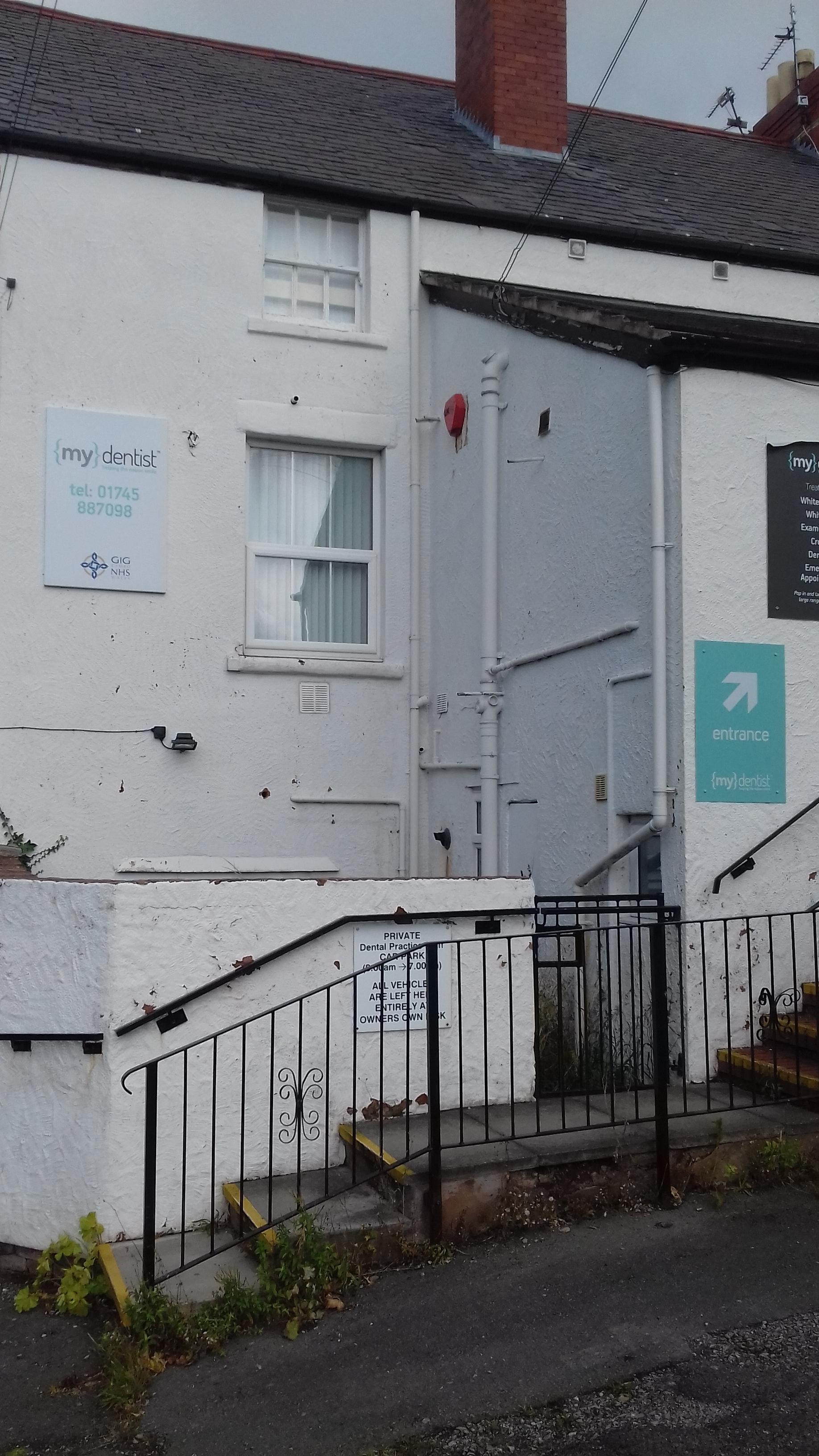 Fern Avenue dental surgery in Prestatyn