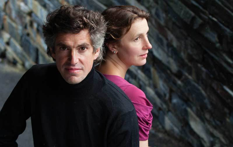 Violinist Mary Hofman and pianist Richard Ormrod