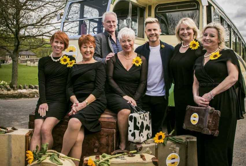 The cast: Calendar Girls The Musical is inspired by the true story of a group of ladies