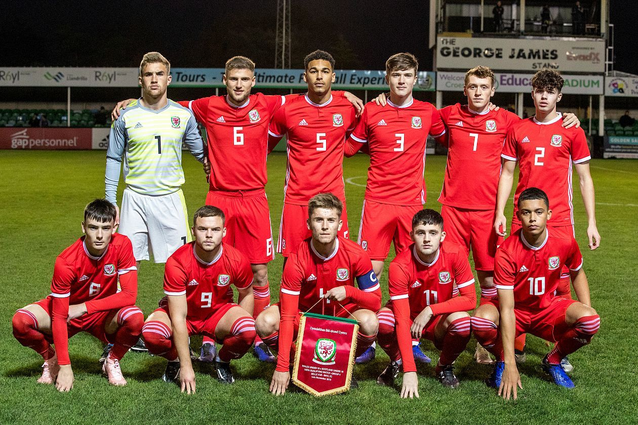 Wales were beaten by Scotland at Rhyl FC