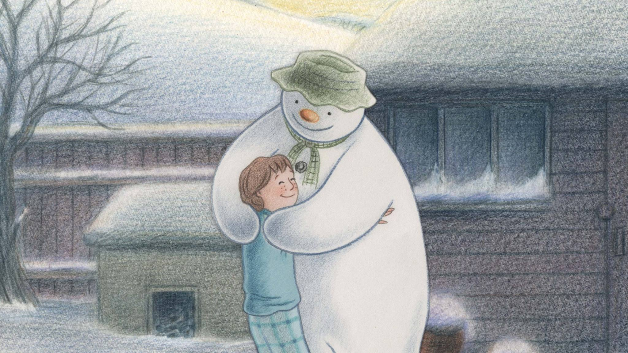 The Snowman hits the big screen this Christmas. Picture: Facebook/ The Snowman