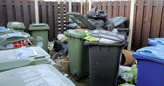 Changes are being made to waste and recycling collections over the festive period