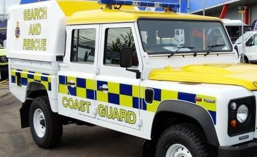 Rhyl Coastguard Rescue Team were called last night to reports of several persons in the water. Picture: Rhyl Coastguard Rescue Team/Facebook