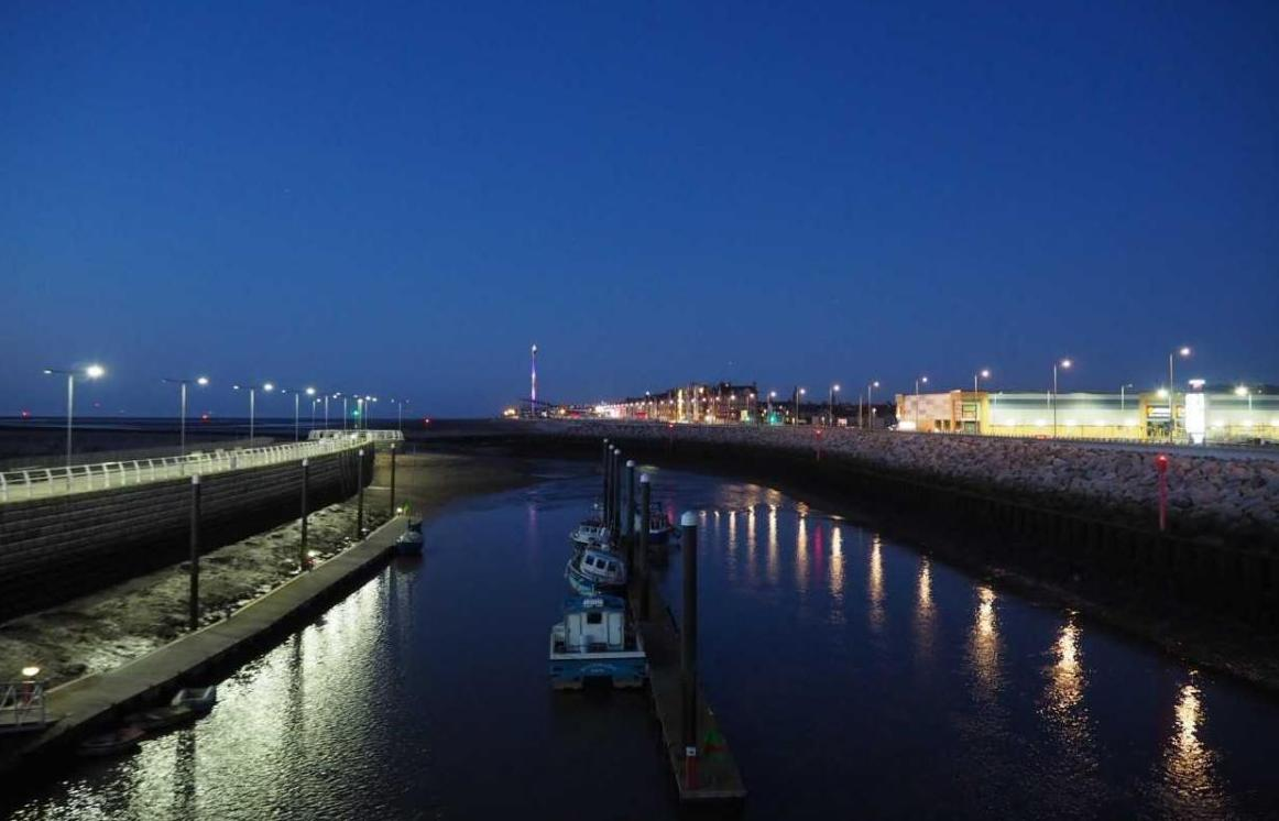 The harbour at night. Picture: John Knight