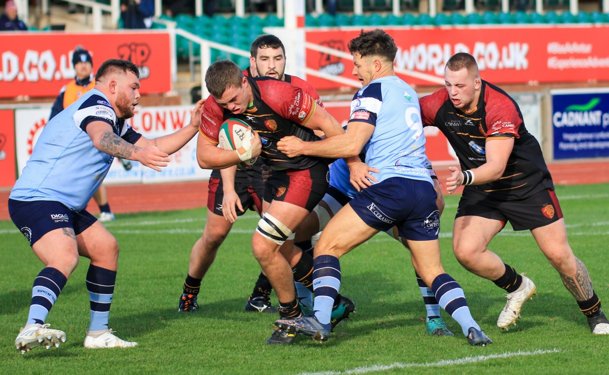 RGC's match with Pontypridd was postponed (Photo by Tony Bale)