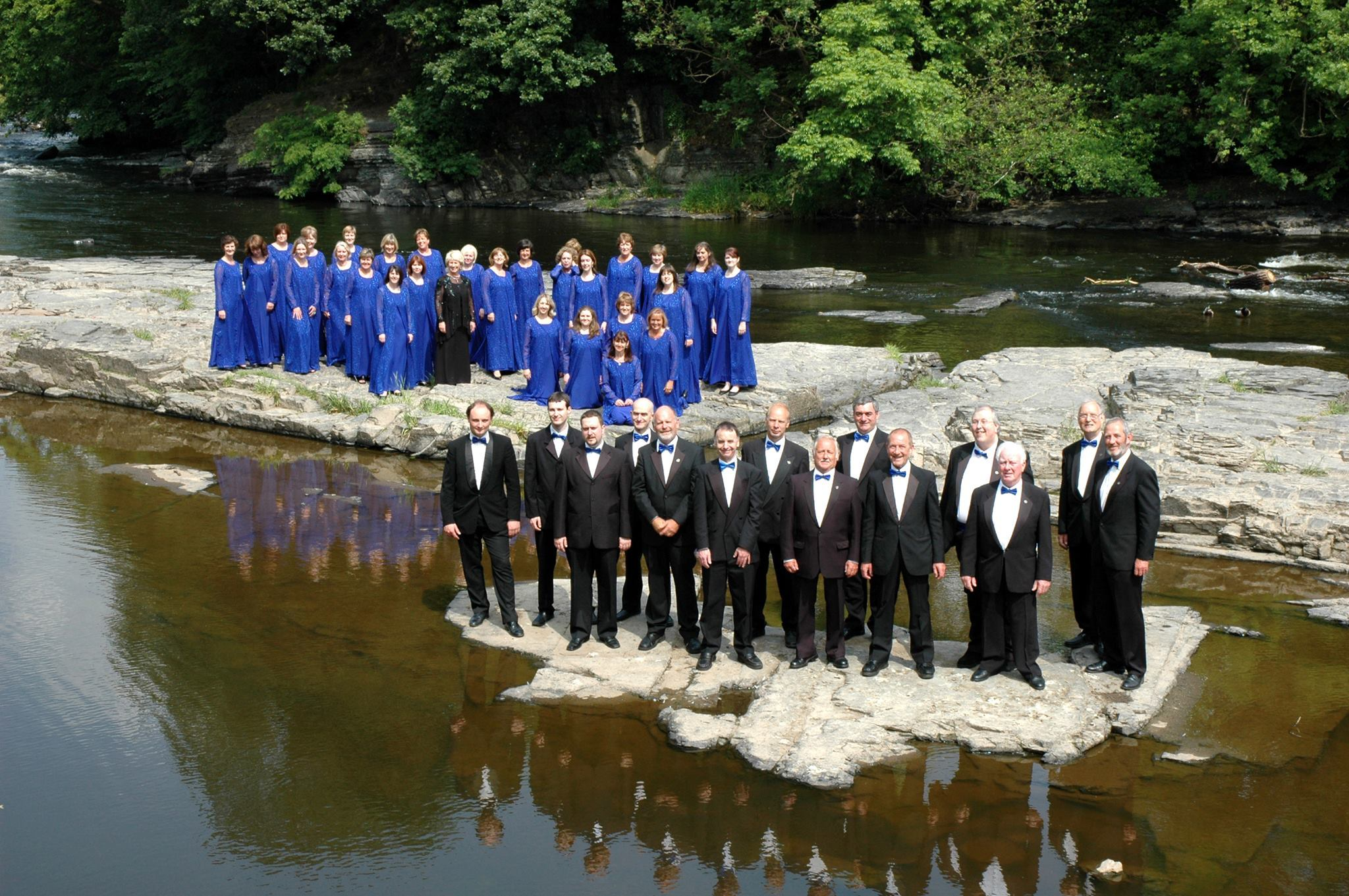 The 50 strong Sirenian Singers will appear at Rhyl Town Hall next month