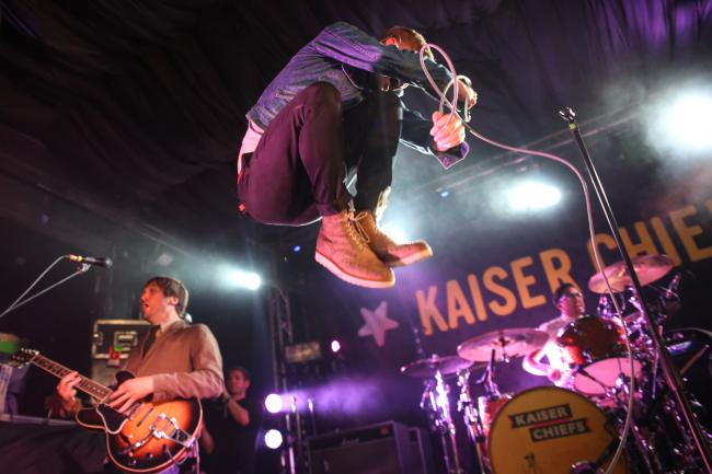 Kaiser Chiefs. Picture: Mike Burnell