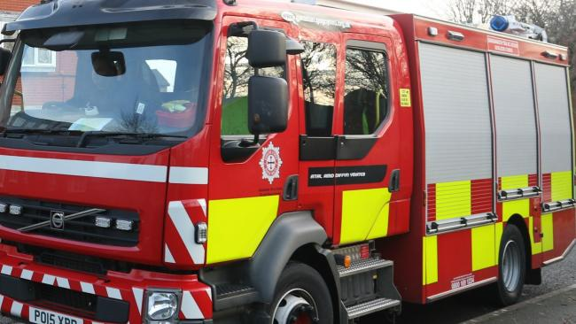 Crew called to bin fire