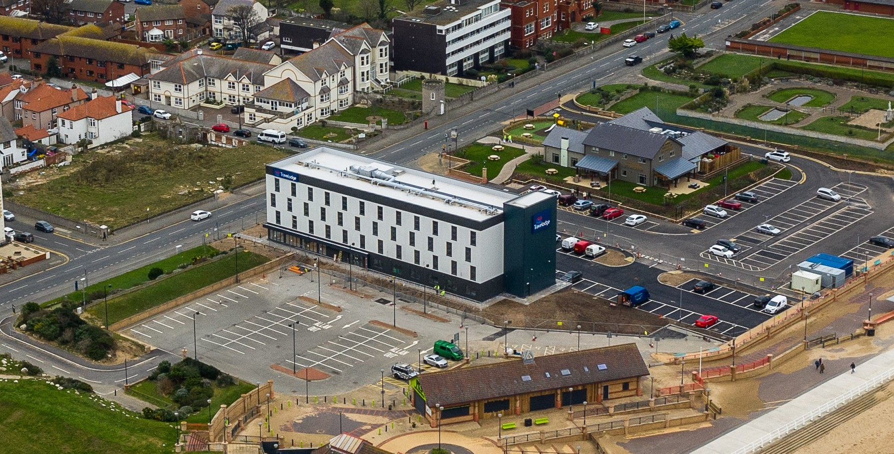 The Travelodge boasts 73-bedrooms