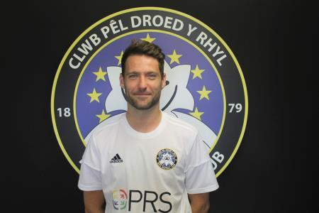 Dave McIntyre made his long-awaited return to the Rhyl first team against Gresford Athletic