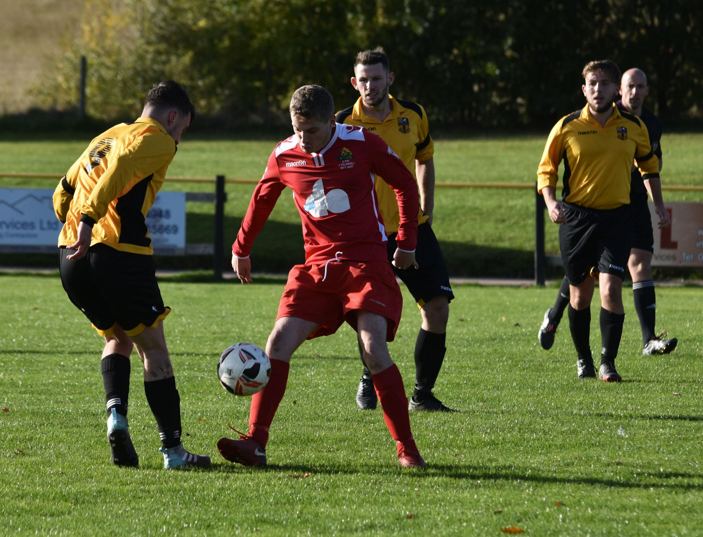 It was a dramatic weekend of action in Welsh Alliance Division Two