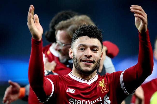 Alex Oxlade-Chamberlain has stepped up his recovery from a long-term injury