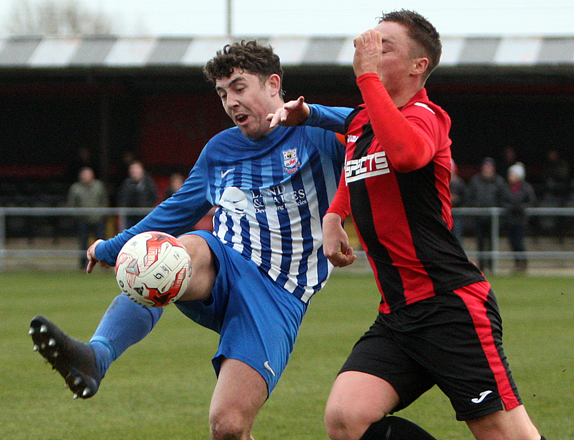 Things look bleak for Holyhead Hotspur after the home loss to Guilsfield (Photo by Richard Birch)