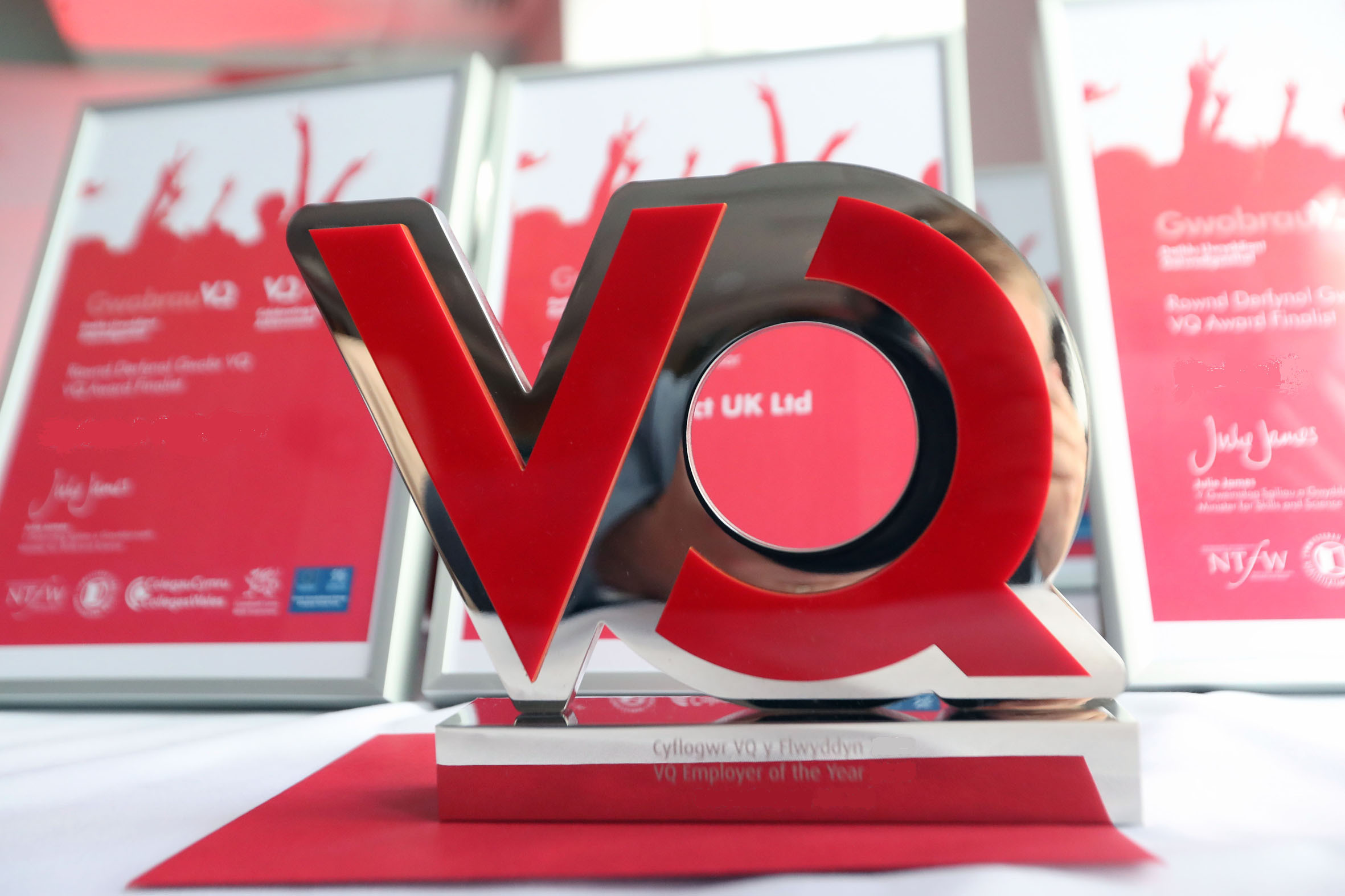 The coveted VQ Award, which is awaiting this year's winners