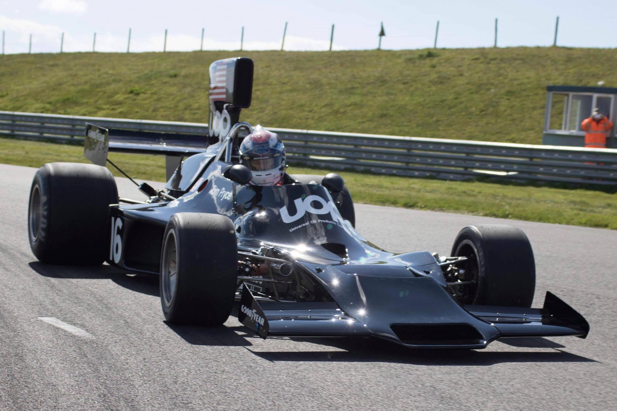 Tom Pryce's Shadow DN3 at the Anglesey Circuit