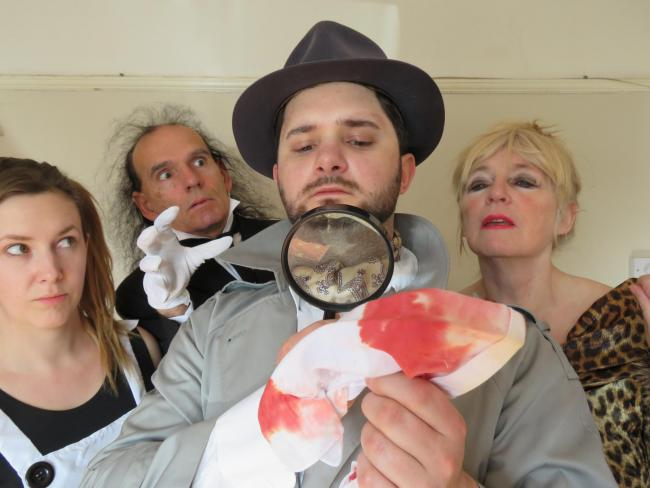 Alex Morgan, Rob Armstrong, Luis Titchiner and Julie Armstrong of Centre Stage Theatre Co