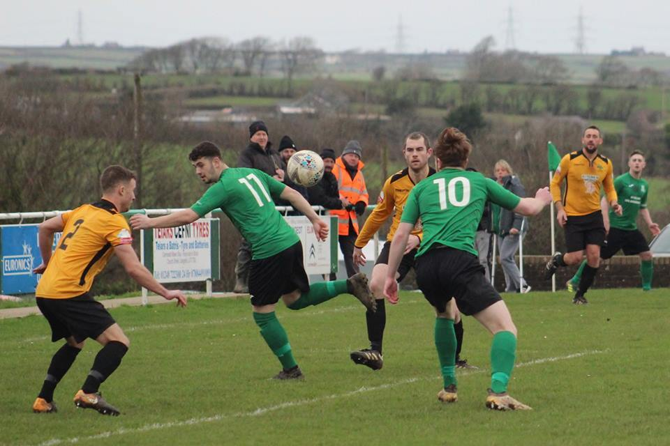 Llannerchymedd remain in contention for a top three finish after winning at Meliden