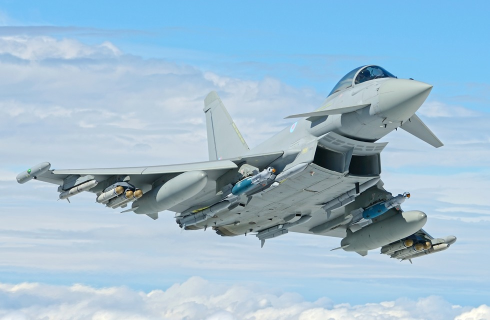 RAF Eurofighter Typhoon display team will be making their debut at Rhyl Air Show