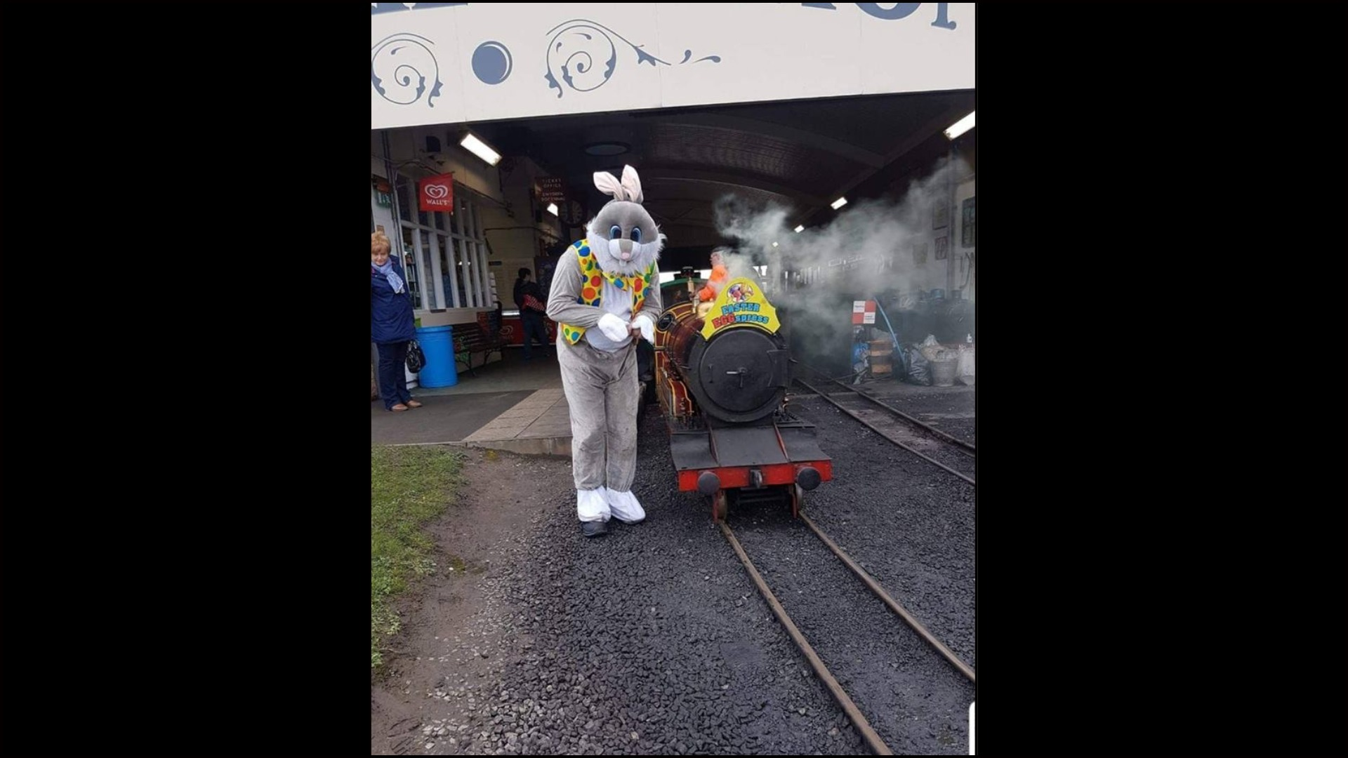 The Easter Bunny will hop down to the Rhyl Miniature railway this month. Picture: Justin Bell