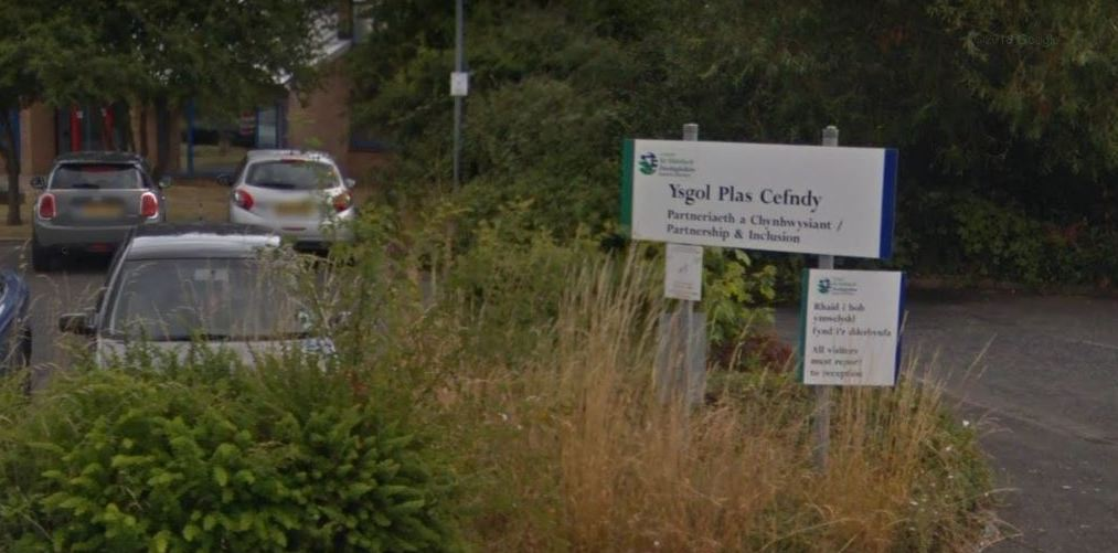 Full marks for Ysgol Plas Cefndy in inspection report. Picture: GoogleMaps