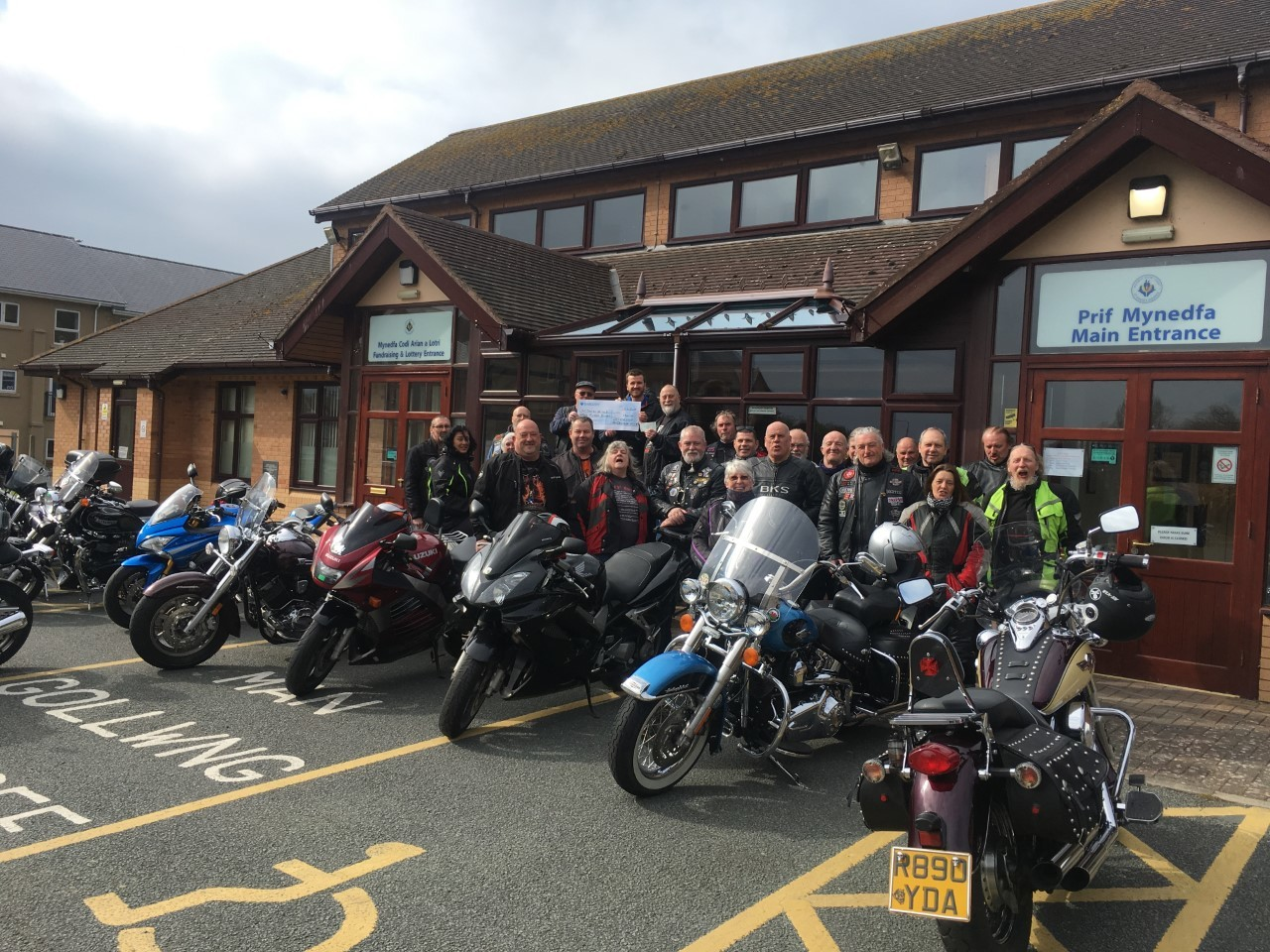 The Whistlestop Motorcycle Club have enjoyed a busy year of fundraising for charity