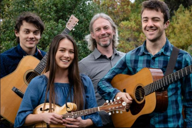 Modern American bluegrass fourpiece Blue Summit are coming to Dyserth