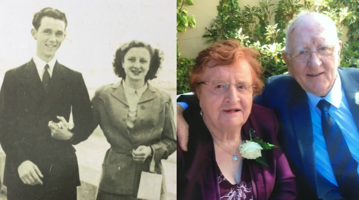 Tributes have been paid to Jack and Dorothy McMahon, who were together for 70 years