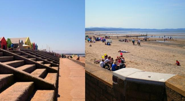 Prestatyn beach has retained its blue flag and Rhyl Central Beach has kept hold of its Seaside accolade