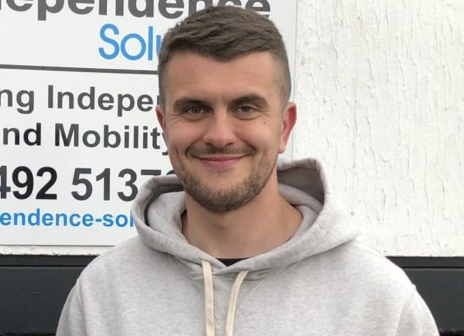 Tomos Clarke has officially joined Conwy Borough
