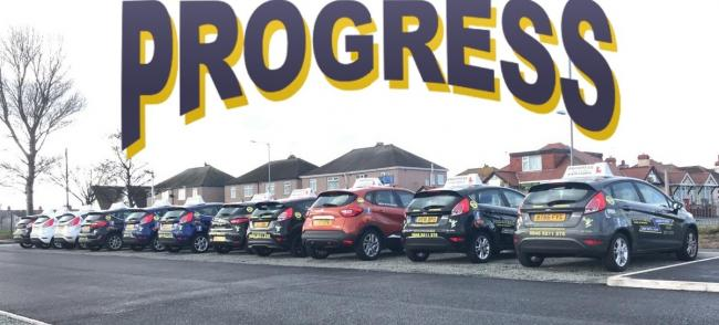 Progress school of motoring's fleet of cars