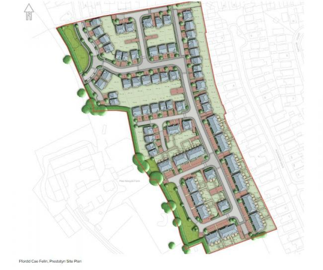 MacBryde Homes put forward proposals for 114 homes in Prestatyn