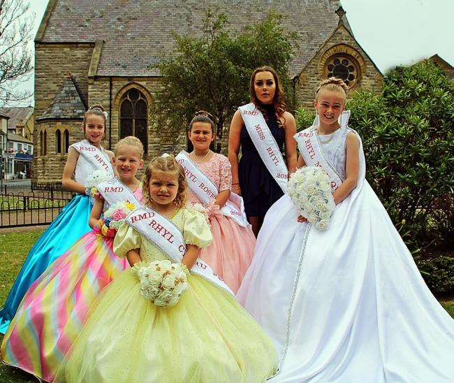 Rhyl's royal family will take pride of palce at the annual carnival